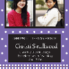 Traditional Custom Printed Graduation Announcement example 2