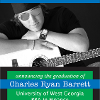 Traditional Custom Printed Graduation Announcement example 4