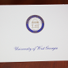 Blue & Gold UWG Seal Thank-You Note Cards