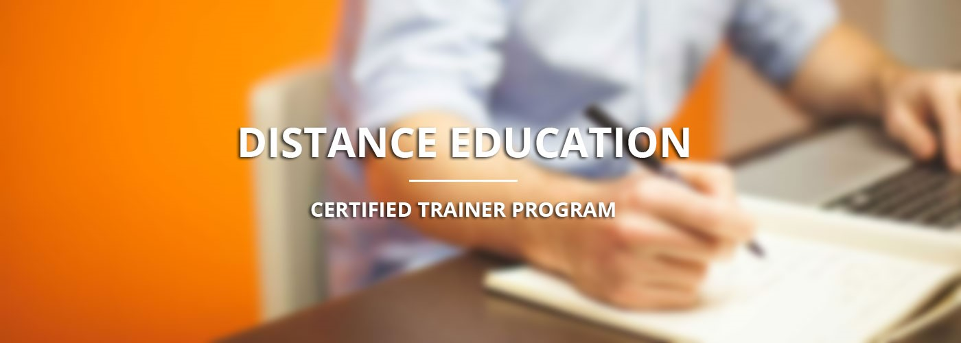 Distance Education Certified Trainer
