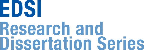 EDSI Research and Dissertation Development Series logo