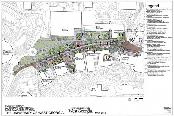 Back Campus Drive Site Plan