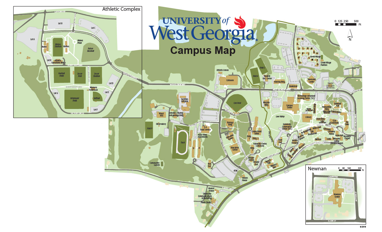 Uwg Campus Maps