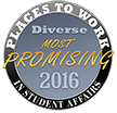 2016 Most promising places to work seal