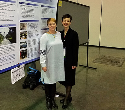 Student and Teacher: Faculty Member Presents Research at International Conference