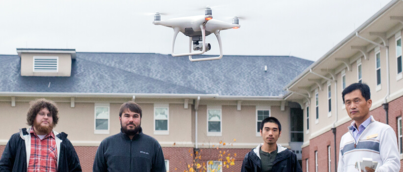 Mapping Your Future: Drone Workshop Provides Insight into Geospatial Modeling