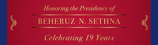 Celebrating the Presidency of Beheruz N. Sethna