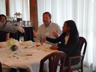 Mentor Program Wrap-Up Dinner - 2011