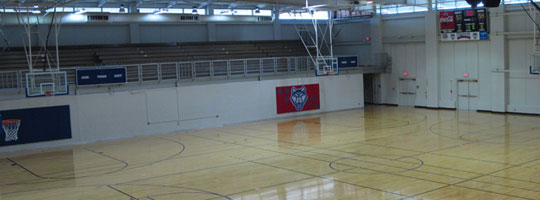 University Recreation Basketball Courts