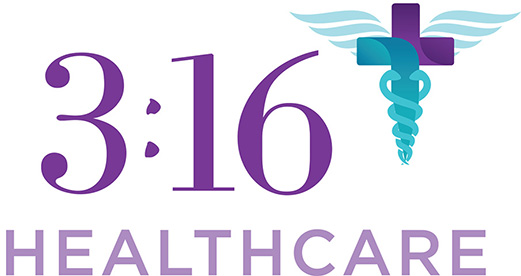 Logo for 3:16 Healthcare