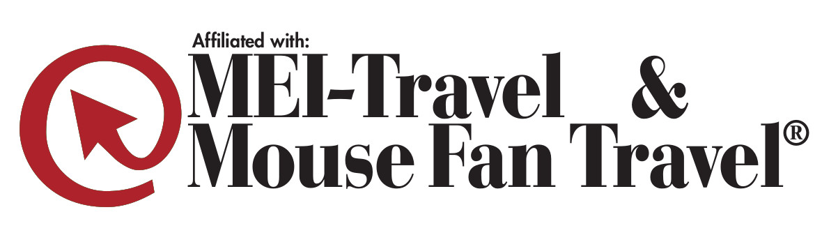 Logo for Affiliated with MEI-Travel & Mouse Fan Travel®