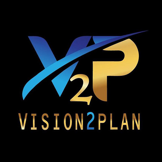 Logo for Vision2Plan, LLC