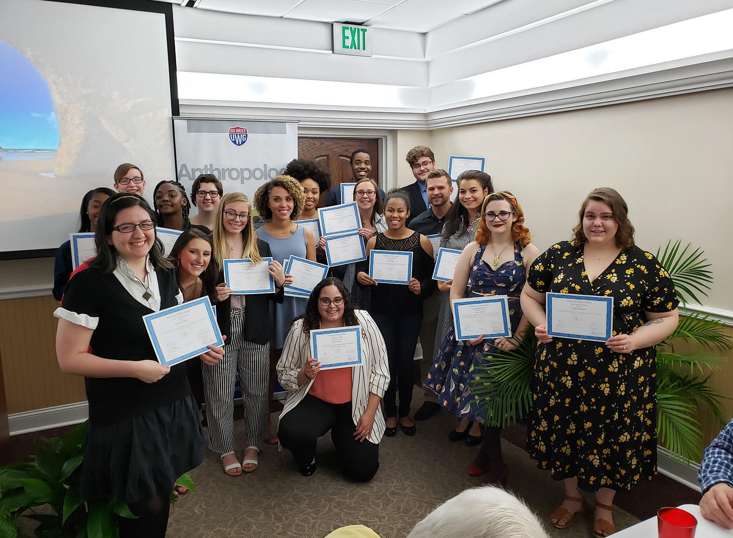 winners of various anthropology scholarships