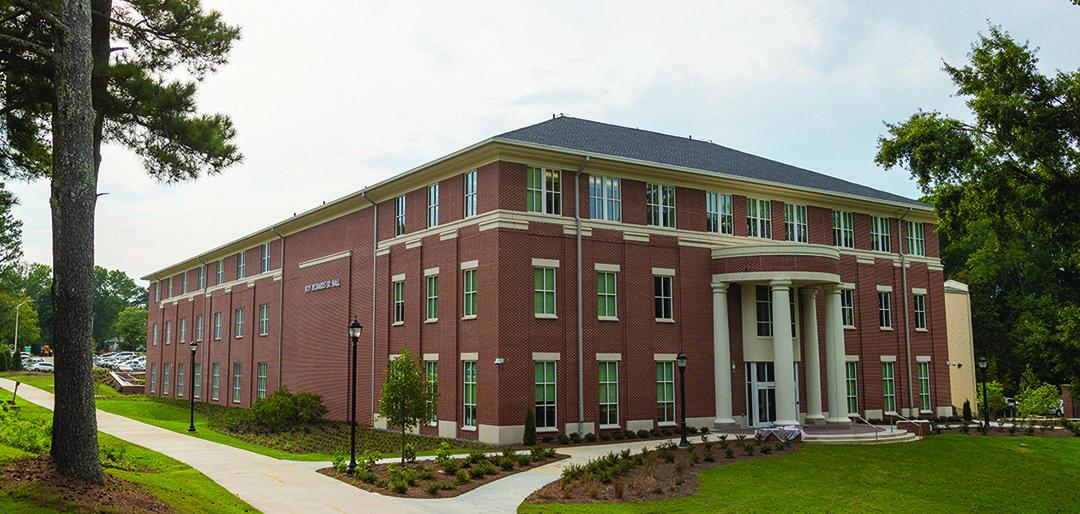 Exterior of Roy Richards Sr. Hall