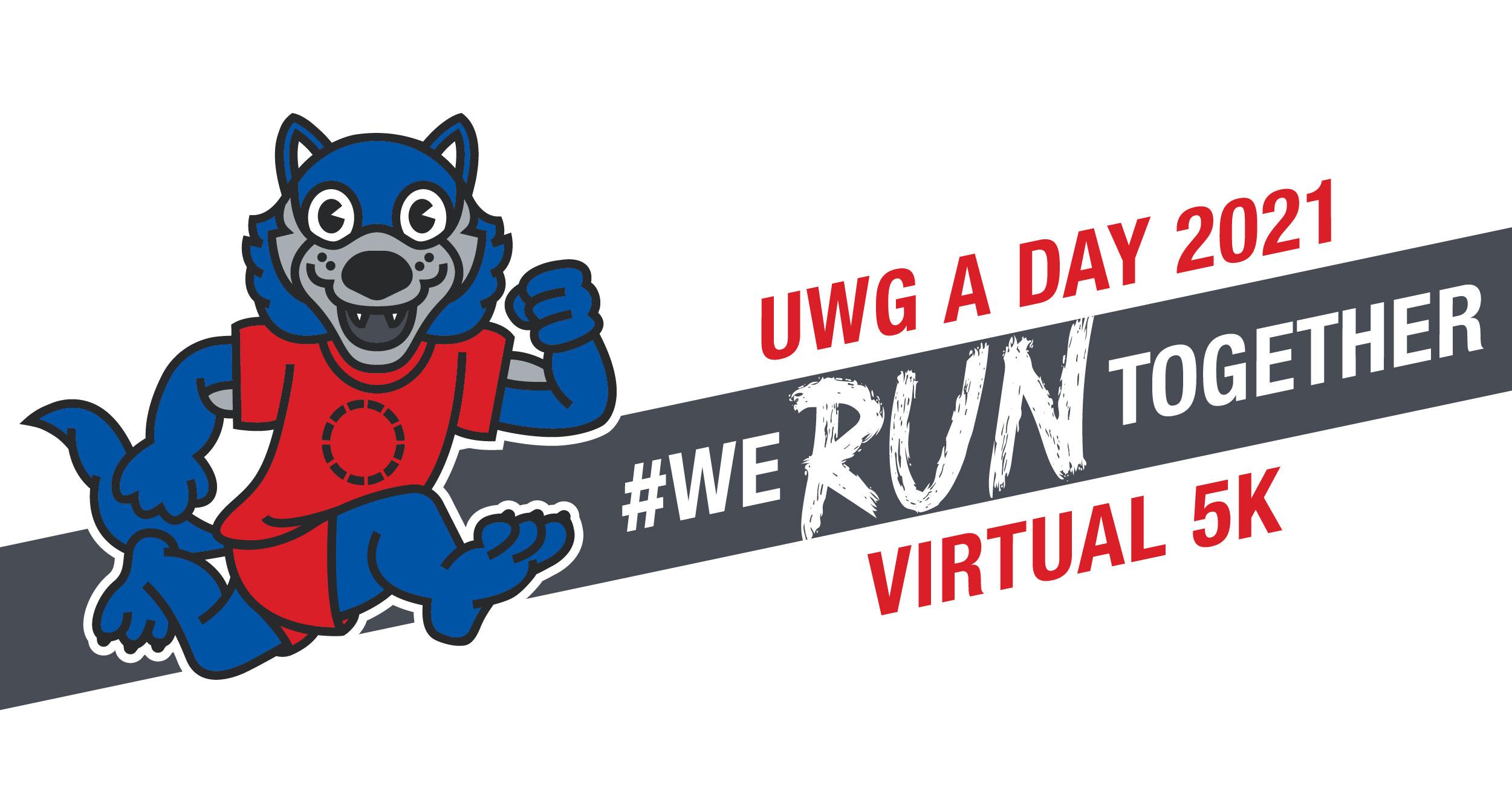 A Day virtual 5k banner