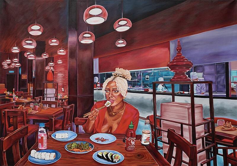 I Dream of Crimson Nights by Ariel Dannielle