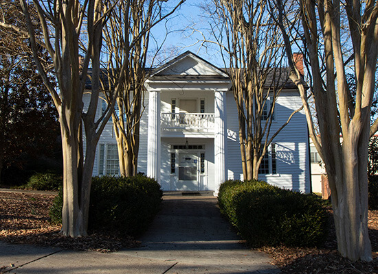 Bonner House on UWG campus