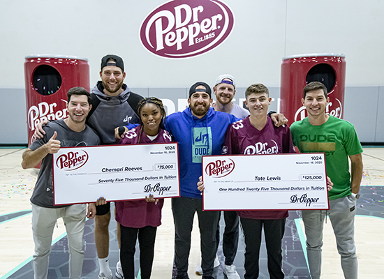 With the help of Dr Pepper – and, interestingly enough, a University of West Georgia staff member named Pepper – UWG nursing student Chemari Reeves has been awarded $75,000 in scholarship money to finish her degree debt-free.