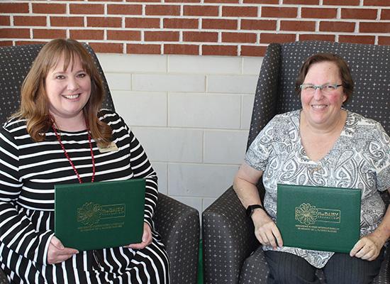 Susie Jonassen and Dr. Nancy Capponi