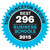 Princeton Review - B est 296 Business Schools - Logo