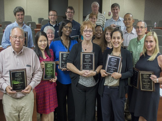 Faculty Award Recipients 2014