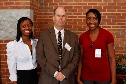 Jasmine Smith, Dr. Tervo, and Tendai Lugube