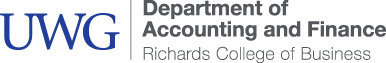 Richards College of Business - Accounting and Finance Logo