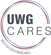 UWG Cares Logo