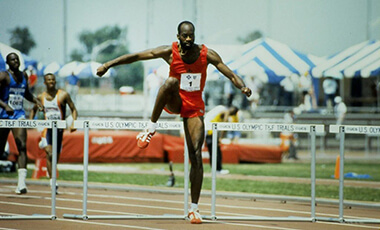 The University of West Georgia's College of Education (COE) will host two-time Olympic gold medalist, Edwin Moses, for its fourth annual Dag Folger Speaker Series: Critical Topics in Education. The keynote speech, themed The Power of Quantum Performance, will be held on Tuesday, March 6 at 7 p.m. in the UWG Coliseum, with an autograph session to follow.