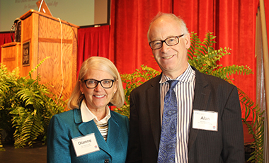 Alan November was the featured guest speaker for the Dag Folger Speaker Series Critical Topics in Education on at the Townsend Center for the Performing Arts. Alan is a renowned professor, speaker, and is the author of the book Who Owns the Learning: Preparing Students for Success in the Digital Age.
