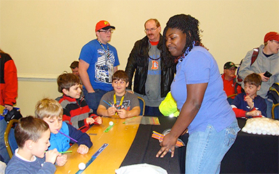 UWG Students Get Young Racing Fans Revved Up about STEM