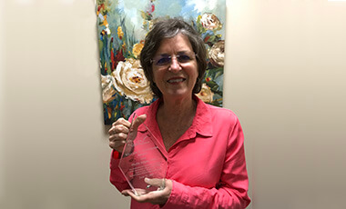 Last year, the University of West Georgia's Dr. Phyllis Snipes led a committee who dedicated their efforts to creating the School Librarian Effectiveness Instrument (SLEI), a powerful tool for school library media evaluation and advocacy for media specialists. In recognition of her leadership and outstanding service to the library media profession, the Georgia Library Media Association (GMLA) recently awarded her the William E. Patterson Award.