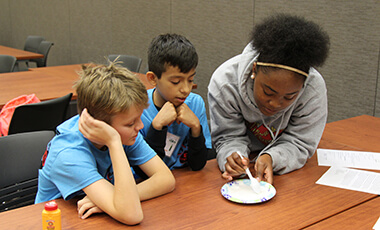 "More than 100 students from area middle and high schools gathered recently for the fifth annual So You Think You Can STEM competition. The event, hosted by the University of West Georgia College of Education (COE), was themed ""Stranded in STEM."""