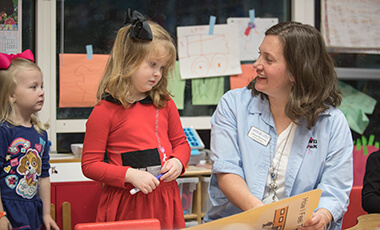 The University of West Georgia's pre-kindergarten program isn't your average child care center. It is a unique early education opportunity that combines faculty, student and community life.