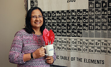 Dr. Sharmistha Basu-Dutt, chair and professor of chemistry at the University of West Georgia, has received a grant of $40,425. The University of Georgia awarded Basu-Dutt the Teacher Quality grant, and the money is intended to be used on a 50 hour, 5 PLU workshop for 24 teachers from Fulton, Coweta and Douglas counties.
