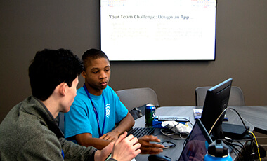 Middle and high school students from around the region gathered recently at the University of West Georgia's new biology building for the university's third annual Hackathon.