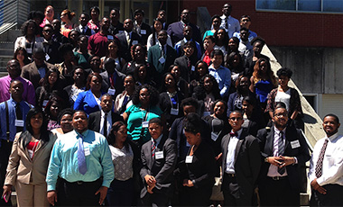 This Spring, the University of West Georgia hosted the Annual Georgia–Alabama Louis Stokes Alliance for Minority Participation. GA-AL LSAMP is funded by the National Science Foundation to mentor under-represented minorities into STEM disciplines. Over 100 undergraduate students from nine alliance partner institutions participated in this symposium and presented their research work.