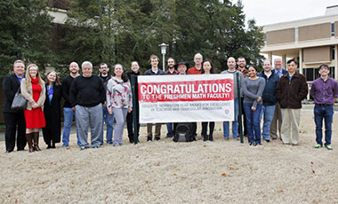 The University of West Georgia's Freshmen Math Program (FMP) has won the 2020 Regents' Momentum Year Award for Excellence in Teaching and Curricular Innovation.