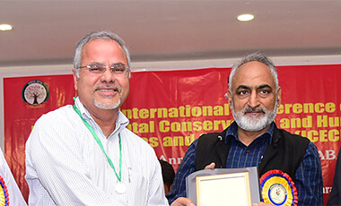 University of West Georgia's Dr. Satyanarayana Swamy-Mruthinti was recently honored for his scientific achievements when he was presented with the El Instituto de Investigaciones Cientificas y Servicios de Alta Tecnologia (INDICASAT) Distinguished Scientist Award by the Association for Biotechnology and Pharmacy (ABAP).