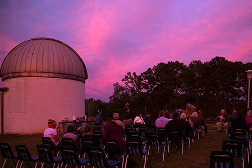 UWG Observatory at sunset