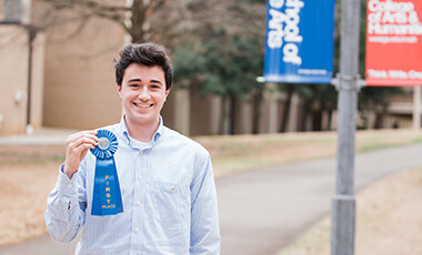 Eighty high school and middle school students from Carroll and neighboring counties converged upon University of West Georgia to compete in the 20th annual West Georgia Regional Science Fair – WGRSEF.