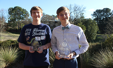 Fifty of the region's bright-minded middle- and high-school students recently competed in the 21st annual West Georgia Regional Science and Engineering Fair (WGRSEF) hosted by the College of Science and Mathematics (COSM) at the University of West Georgia.