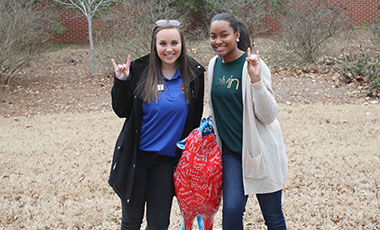 The University of West Georgia hosted more than 400 students recently at its winter Preview Day, which serves as an open house to show prospective students and their guests the unique opportunities offered at the university.