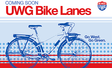 The University of West Georgia is moving forward in its efforts to not only serve its students, faculty, and staff, but to also integrate with Carrollton's pedestrian and bike infrastructure. Crews are working on the perimeter of West Georgia Drive to install bike lanes.