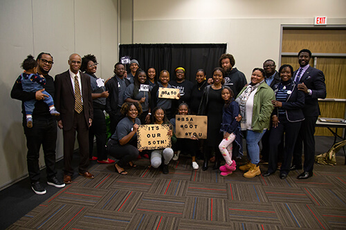 Members of UWG's Black Student Alliance