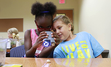 The University of West Georgia's Department of Continuing Education invites kids to join a holistic, fun learning environment through various summer camp programs. UWG summer camps offer something for everybody, from general science to insects to arts and film, and more.