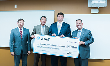 Thanks to a grant from AT&T, the Carrollton-Carroll County Education Collaborative (CCEC) is one step closer to reaching its goal of becoming a regional educational resource network that provides educational opportunities to K-16 students in multiple counties.