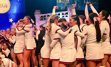 It was a banner day for University of West Georgia Cheerleading at Disney's Wide World of Sports in Orlando, Fla. on Saturday, as the West Georgia Wolves took home the hardware in both All-Girl and Coed competition, marking the first year that the Wolves have swept their team competition entries under head coach Nicole Nichols.