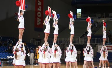 The UWG cheer program has sustained a dynasty since 2001, when former coach Sherry Cooney took a program that faced numerous challenges and shaped it into a national contender that has now reached 24 championships at the UCA Nationals.