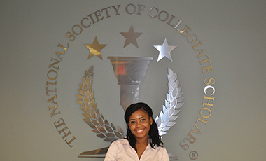 University of West Georgia senior Abigail Cotton is striving to be a good leader to her fellow students and community. So far, she is succeeding. She not only served as president for UWG's chapter of the National Society of Collegiate Scholars, but she was also recently chosen as the honor organization's Scholar of the Week.